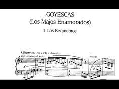 VOLKSMUZIEK ▶ Goyescas (con El Pelele) - Granados (Alicia de Larrocha) - YouTube