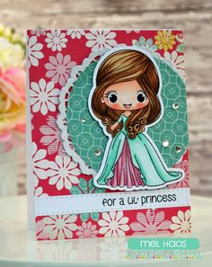 Stamp AnnieThing's February Sneak Peeks Day One :: Princess Giselle