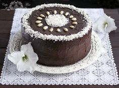 tort czekoladowo- kokosowy