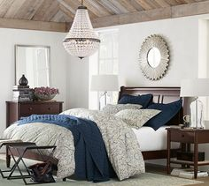 Mia Faceted-Crystal Chandelier | Pottery Barn CHANDELIER!