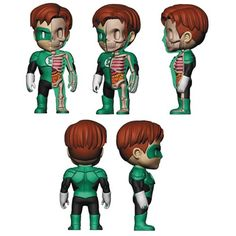 Green Lantern XXRAY 4-Inch Vinyl Figure