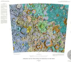 In the 1960s and '70s, the U.S. Geological Survey created a Geologic Atlas of the Moon. The series of maps, best viewed while listening to Jefferson...