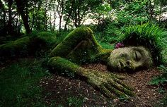 Grass lady in Cornwall....my place of heritage, desperate to take my daughters there one day