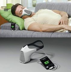 Charge your phone with your own breath Does this work better or worse with someone with #sleep #apnea