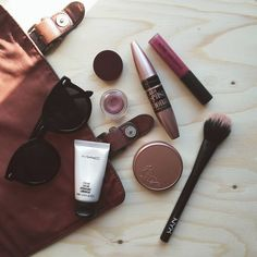 """204 Likes, 24 Comments - Chia (@lavieencosmetiques) on Instagram: """"Today's essentials ☀ #maccosmetics #nablacosmetics #maybellineIT #tartecosmetics #nyxcosmetics…"""""""