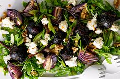 Julie Goodwin's favourite roasted beetroot, rocket and walnut salad