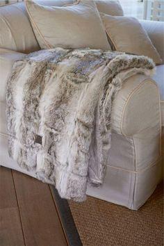 Rivièra Maison Official Online Store ® - Accessoires   Woontextiel & Stoffering   Plaids   Sable Throw grey 180x130