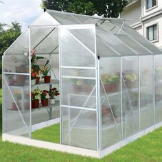 "Serre Jardin Polycarbonate ""Hortensia"" 4.8m²"