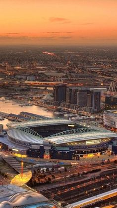 Etihad Stadium in Manchester England Home of Manchester City Soccer Stadium, Football Stadiums, Man City Stadium, Football Gear, College Basketball, Manchester England, Melbourne Australia, Australia Travel, Countries Around The World