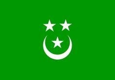 Dagistan Turkish Nation Flag(in rusia)