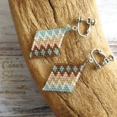 Rhombus Earring Native pattern                                                                                                                                                                                 もっと見る