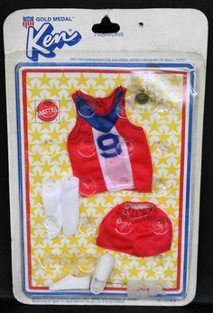 1974 KEN BEST BUY GOLD MEDAL OLYMPIC fashion NRFB MIB Vintage Barbie #7245 Rare
