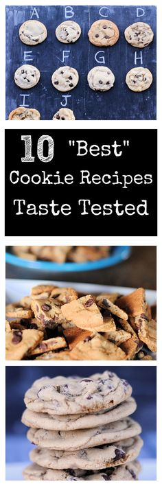 Which is the best chocolate chip cookie recipe? Taste tested-results revealed!