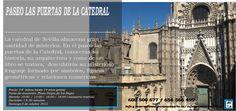 Mañana Domingo día 4 de octubre hemos preparado un Paseo LAS PUERTAS DE LA CATEDRAL Quedan pocas plazas