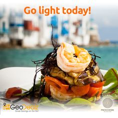 Go light today  Summer is a great time for some sun and good food. Enjoy a light meal at Provedore • Artisan Food that's also light on your pocket.   Make sure you have GeoDealz to guide you to the 20% discount on your meal. iOS: apple.co/23hzIMQ Android: bit.ly/1YiBXbV