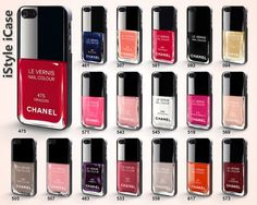 CHANEL iPhone 5 Case - Nail Polish