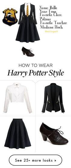 Hoe kleed je Harry Potter style? De outfit voor Hufflepuff ziet er zo uit! Want wie houdt er nou niet van Fashion en Harry Potter?