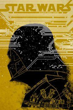 Star Wars: Episode IV - A New Hope (1977) ~ Alternative Movie Poster by Edgar Ascensao #amusementphile