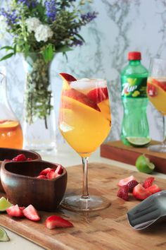 Moscato Peach Punch | The Two Bite Club