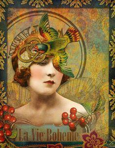 LA VIE BOHEME - Art by DALE created with La Vie Boheme Collab available at Deviant Scrap. HIDDEN VINTAGE STUDIO: http://www.deviantscrap.com/shop/product.php?productid=21010== TUMBLE FISH STUDIO: http://www.deviantscrap.com/shop/product.php?productid=21005==