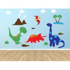 Amazon.com: Dinosaur Wall Decal - Rawr ... means I Love you: Home & Kitchen