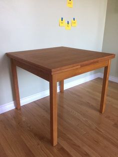 Mid Century Modern Teak Dining Table