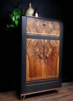 Art Deco Furniture, Diy Furniture Projects, Fine Furniture, Vintage Furniture, Painted Furniture, Upcycled Furniture, Reupholster Furniture, Furniture Refinishing, Furniture Redo