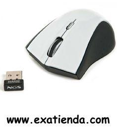 Ya disponible Rat?n NGS wireless vip blanco   (por sólo 21.99 € IVA incluído):   -Ratón RF 2.4 Ghz con sensor óptico de 800/1600 dpi especial para portátil. 2 pulsadores + rueda-botón para numerosas funciones. Dimensiones reducidas. Conexión NANO USB.  -Especificaciones Técnicas: 800/1600 dpi Receptor NANO USB: 2.4Ghz Botón de apertura de carcasa Botón on/off  -Contenido del embalaje : White Vip Wireless mini mouse Receptor Nano USB Baterias 2 x AAA Manual de usua