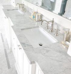 Carrera marble kitchen decorating (33)
