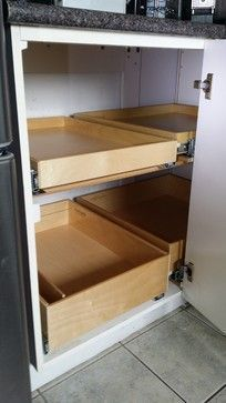 Best How To Build Pull Out Shelves For A Blind Corner Cabinet 400 x 300