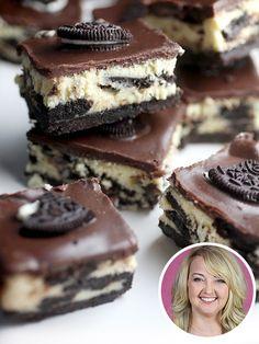 Bite Into Bakerella's Cookies  Cream CheesecakeBars