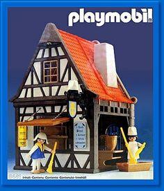 PLAYMOBIL® 3441 - Boulangerie médiévale - Medieval bakery - Backerei