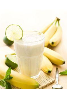 Recette de Smoothie banane pomme et yaourt