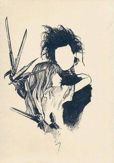 Edward Mãos de Tesoura... Contos de fantasia fantástica e de terror, WebNovels e Fanfics de Kuroi Yuki: http://kuroiyuki-ky.blogspot.com.br/