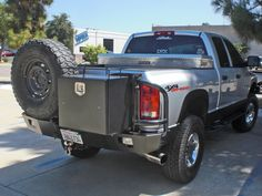 Aluminess Products - Dodge Ram Rear Bumper for 2003-2014