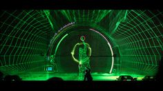 This project combines the collective talents of musicians, dancers, programmers, designers and animators to create an amazing visual instrument.