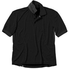 Beretta Men's Bamboo Technical Polo Shirt, Size: Large, Black