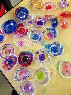Goff's Pre-K Tales: Our Chihuly Masterpiece Kandinsky, Kindergarten Jobs, Art Auction Projects, Art Projects, Christmas In Italy, Blending Sounds, Blends And Digraphs, Have Fun Teaching, Spring Activities