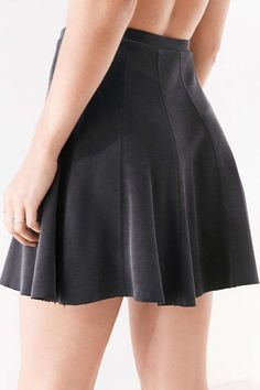 Silence + Noise Spin City Knit SkaterSkirt by Urban Outfitters
