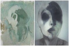 Who would have guessed that somebody painted self-portraits like this in the early 20th century?
