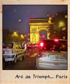 Arc de Triomph... Paris