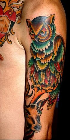 Owl Tattoo Ideas | Best Tattoo 2015, designs and ideas for men and women