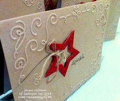 Filigree Frame Glimmer Star Card