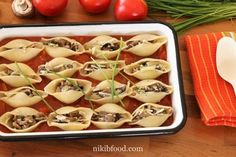 Cheese and mushroom pasta bake - So yummy! A wonderful comforting pasta bake recipe. A delicious tomato sauce! Baked Pasta Recipes, Baking Recipes, Mushroom Pasta Bake, Stuffed Mushrooms, Stuffed Peppers, Grated Cheese, Tomato Paste, Baking Pans, Dishes