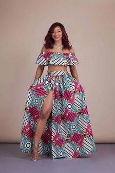 trendy Ankara Styles are the most beautiful pieces of clothing. Ankara Styles is one of the hottest African fashion you need to wear. Off Shoulder Outfit Casual, Off Shoulder Outfits, African Inspired Fashion, African Print Fashion, Africa Fashion, African Prints, African Attire, African Wear, African Dress