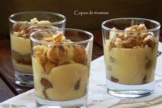 Uma boa forma de fechar uma refeição. Uma sobremesa simples, deliciosa e muito original
