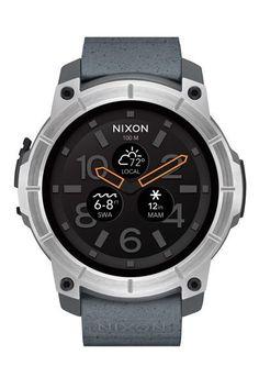 Nixon Time Teller - Men Wrist Watch on YOOX. The best online selection of Wrist Watches Nixon. Best Smart Watches, Best Watches For Men, Mens Sport Watches, Cool Watches, Men's Watches, Stylish Watches, Wrist Watches, Swiss Luxury Watches, Swiss Army Watches
