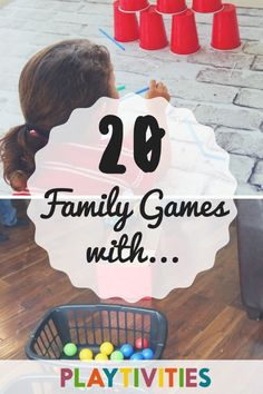 20 Family Games with simple household objects. These family games will create memories and it& a perfect way for a family bonding games indoor house Family Reunion Activities, Christmas Activities For Families, Bonding Activities, Family Games, Family Family, Indoor Activities For Kids, Fun Activities For Kids, Fun Crafts For Kids, Parenting Websites