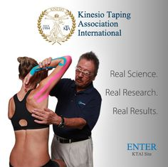 Kinesio Tape - For more than 25 years,  Kinesio Taping has been breaking new ground in the fields of sports performance, pain management and physical therapy. The Kinesio Taping Method is designed to facilitate the body's natural healing process while allowing support and stability to muscles and joints without restricting the body's range of motion.