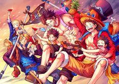 Zoro One Piece, One Piece Ace, One Piece Comic, One Piece Fanart, Anime One, Otaku Anime, Manga Anime, Ace Sabo Luffy, One Piece Drawing